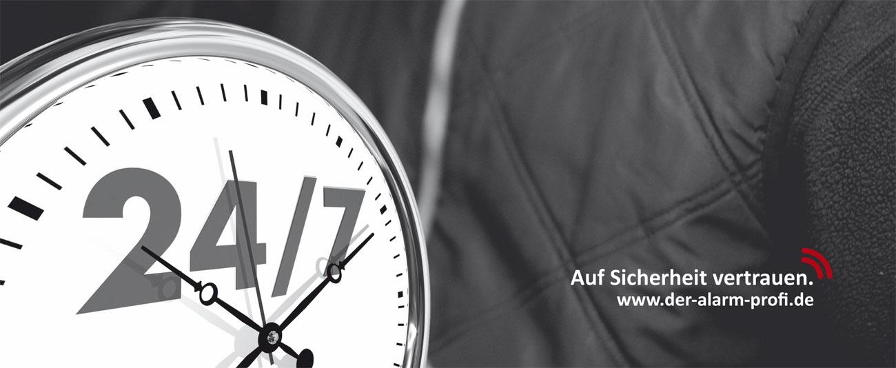 DER ALARM PROFI 24 – Alarmüberwachung durch Notrufzentrale
