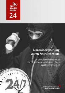 Infobroschüre DER ALARM PROFI 24