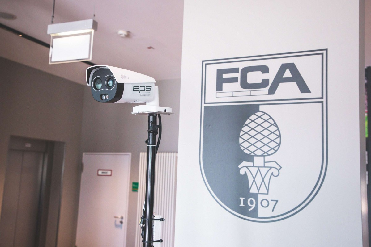 FC Augsburg führt thermische Fiebermessung ein