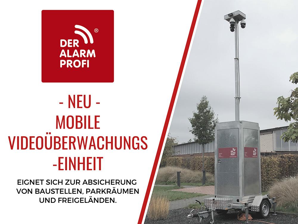 Mobile Überwachungseinheit - DER ALARM PROFI