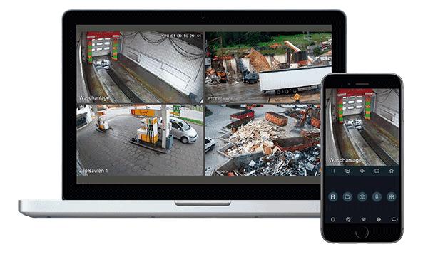 Videoüberwachung – Lösungen für den gewerblichen und privaten Bereich