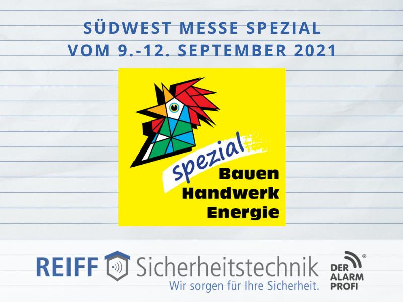 Südwest Messe spezial in Villingen-Schwenningen vom 9.-12. September 2021
